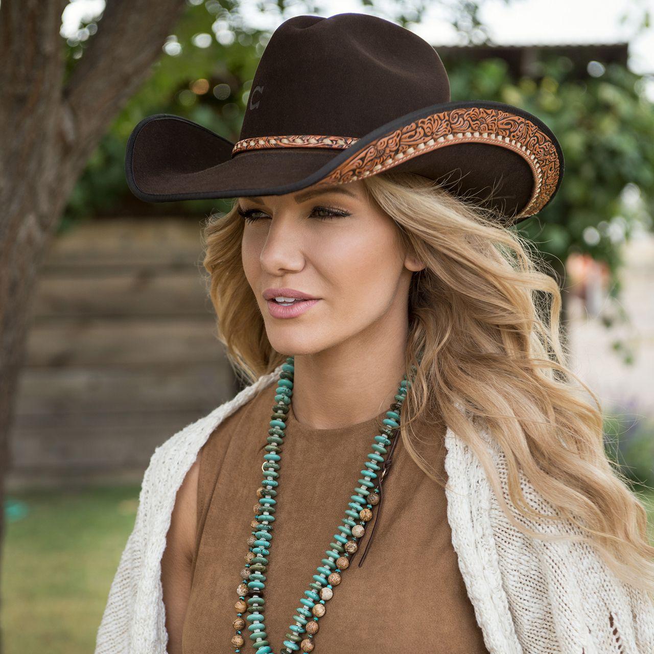 Charlie 1 Horse Calamity Brown Western Hat  9f72842dee4