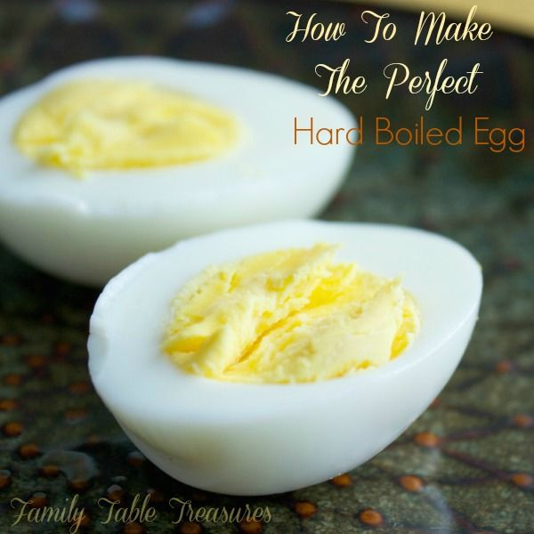 How To Make The Perfect Hard Boiled Egg - Family Table Treasures