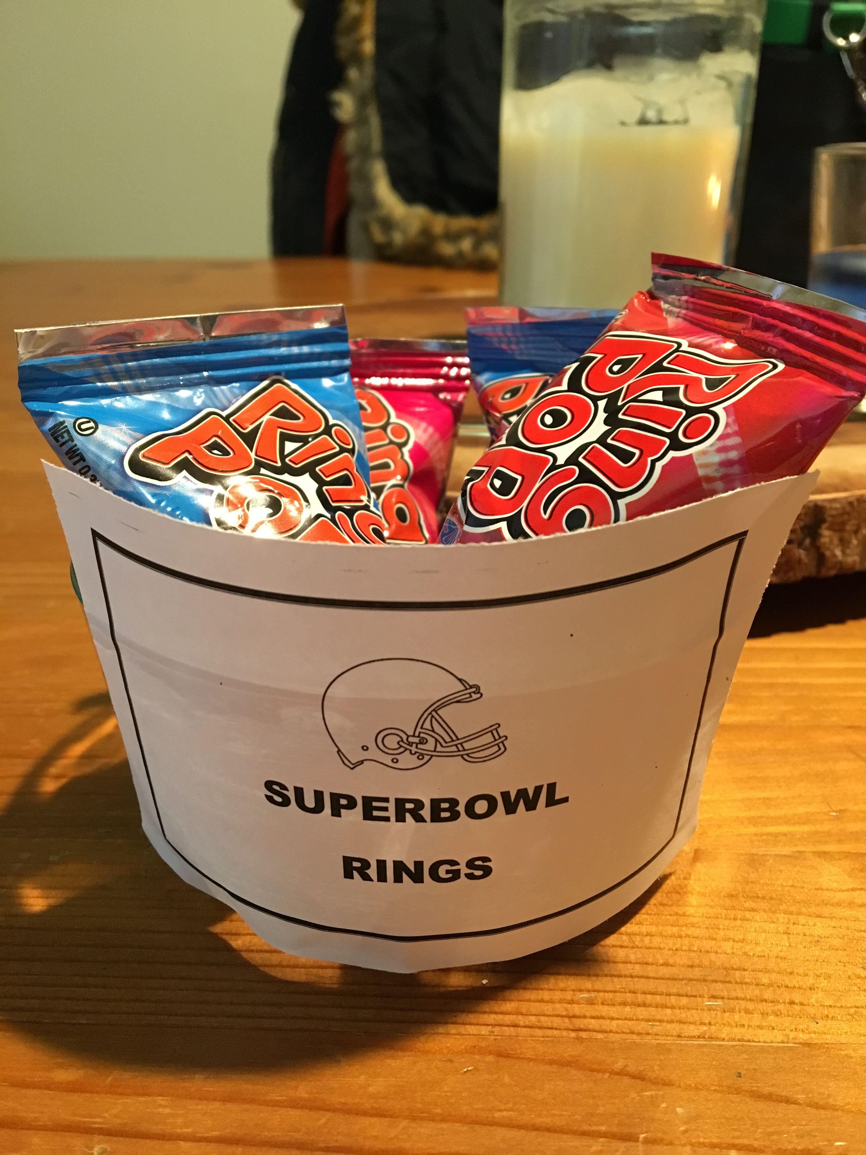 Superbowl Rings Diy Super Bowl Sunday Ring Pops