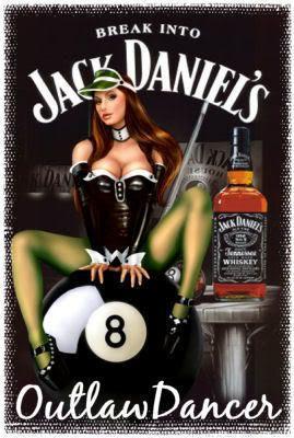 pin up jack daniels