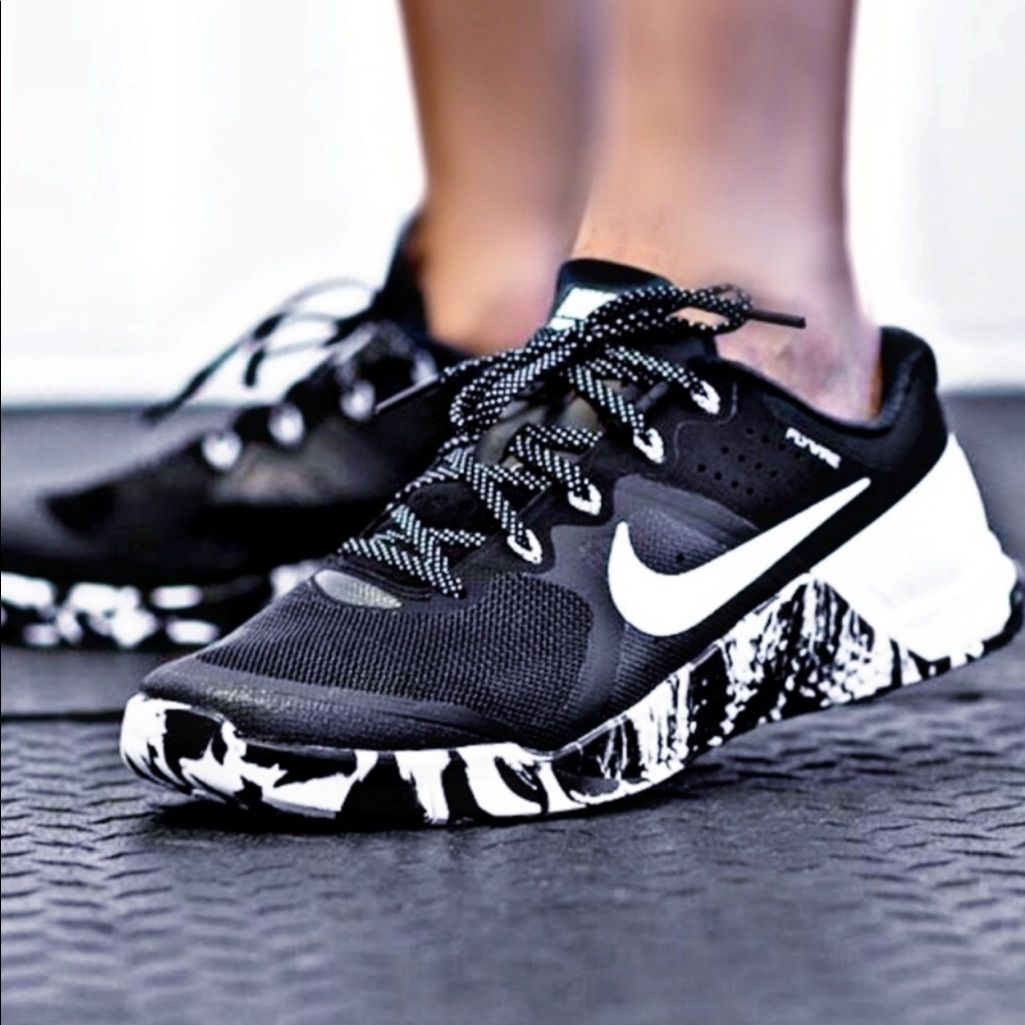 Nike Shoes | Nike Metcon 2 Black And White Marble | Color