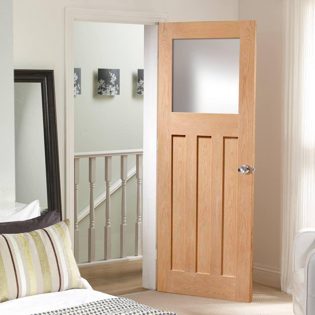 Simpli Door Set Dx 1930 S Oak Door Obscure Safe Glass Prefinished Internal Doors Oak Doors Clear Pine Doors