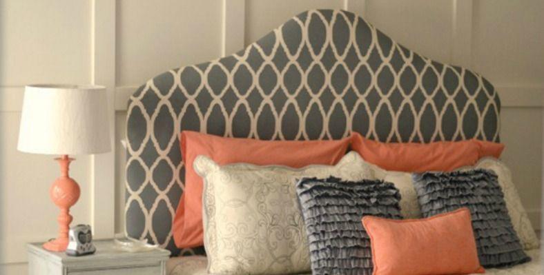 Bed Van Karton : Diy chique hoofdbord van karton bed