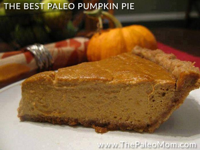 Pumpkin pie has always been my all-time favorite dessert ...