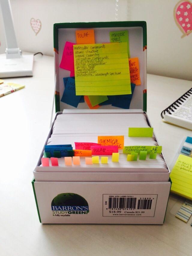 dec 27th twenty fourteen // 11:30pm finished organizing my AP chem ...