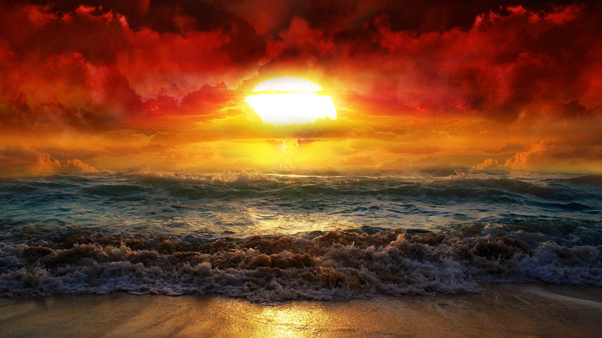 Abstract Golden Sunrise Wallpaper Desktop Wallpapers Hd Beautiful Sunrise Beautiful Sunset Nature Photography