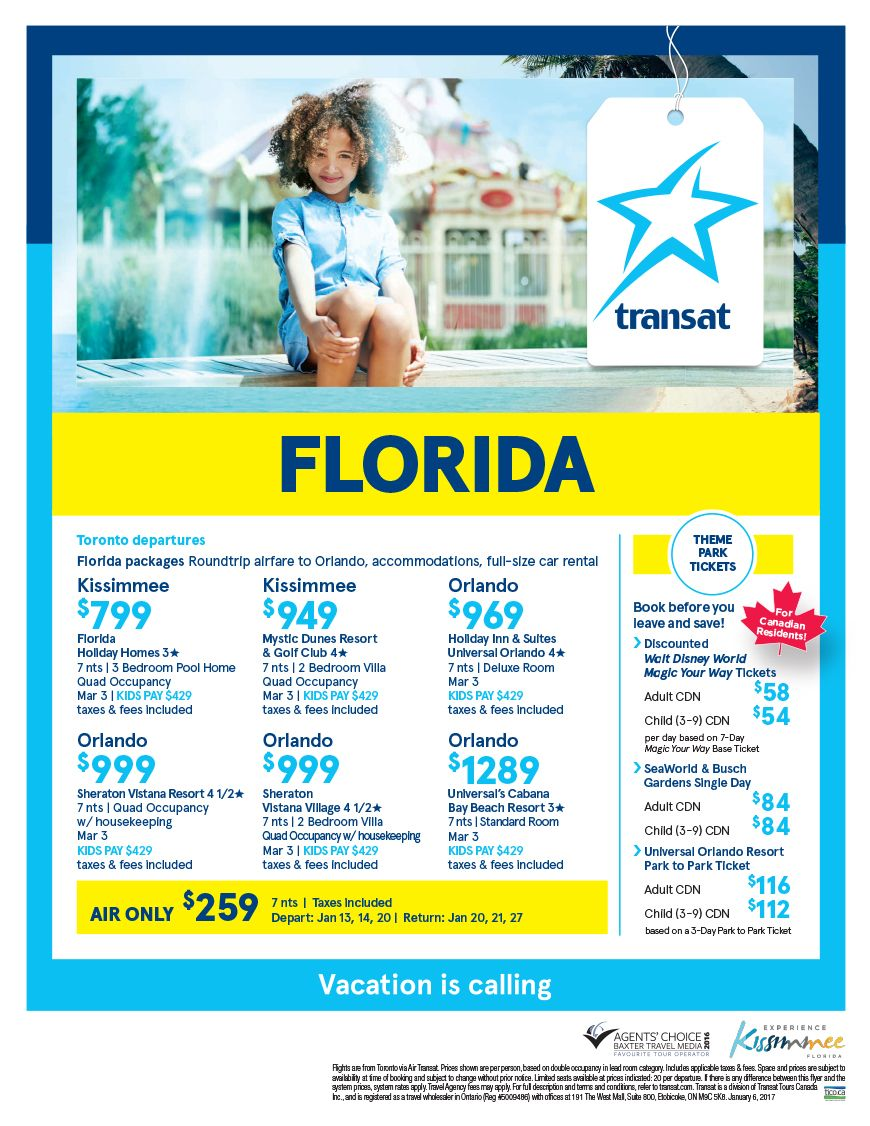 Florida packages centre holidays with images service