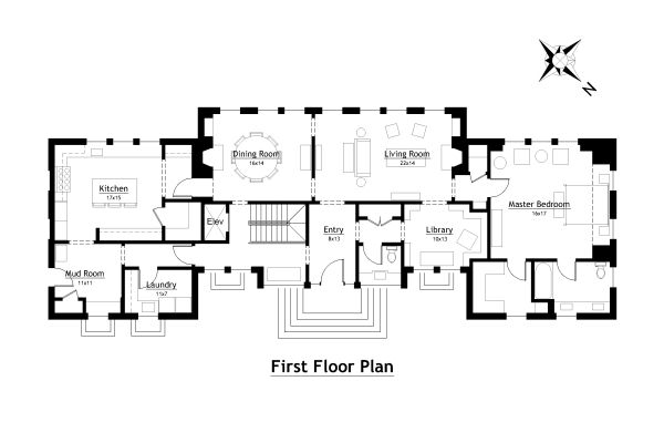 Country House Floor Plans Small Country House Plans, Modern Country Home  Plans