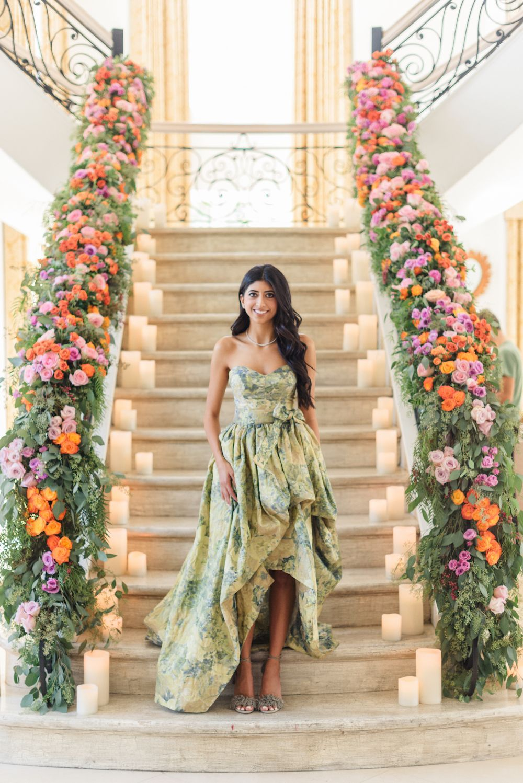 Dress for wedding engagement party  Tiffany u Benus Lavish and Bright Engagement Party Captured by Sanaz