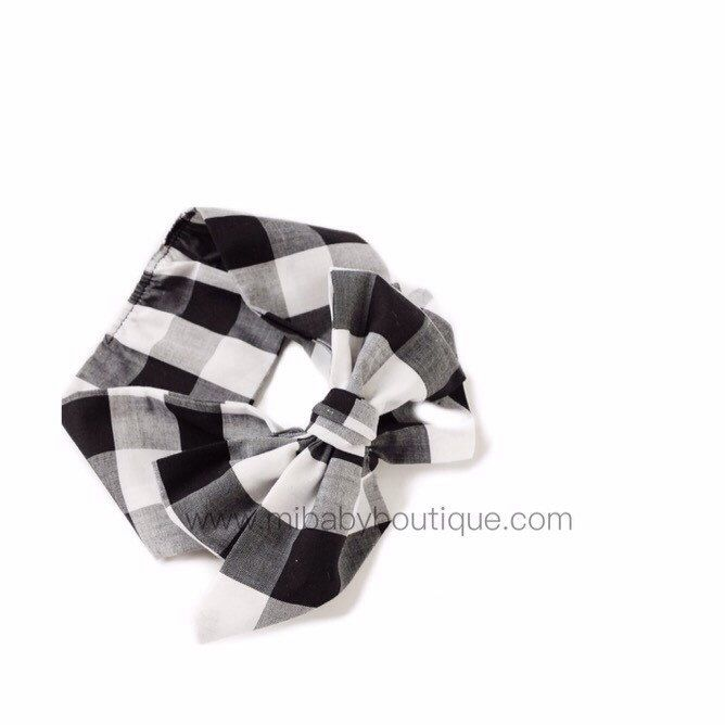 A personal favorite from my Etsy shop https://www.etsy.com/ca/listing/271555084/gingham-baby-headwrap-baby-headbands-big