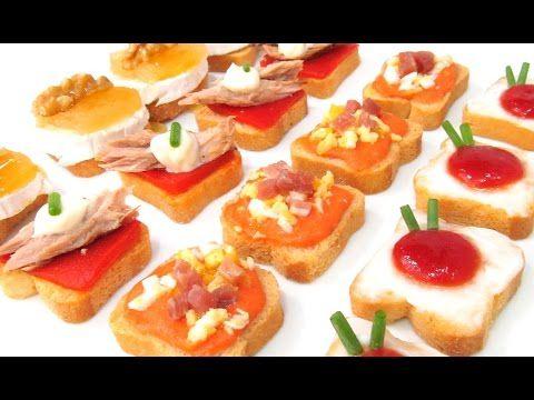 canapes para fiestas faciles rapidos y baratos recetas de cocina por chef de