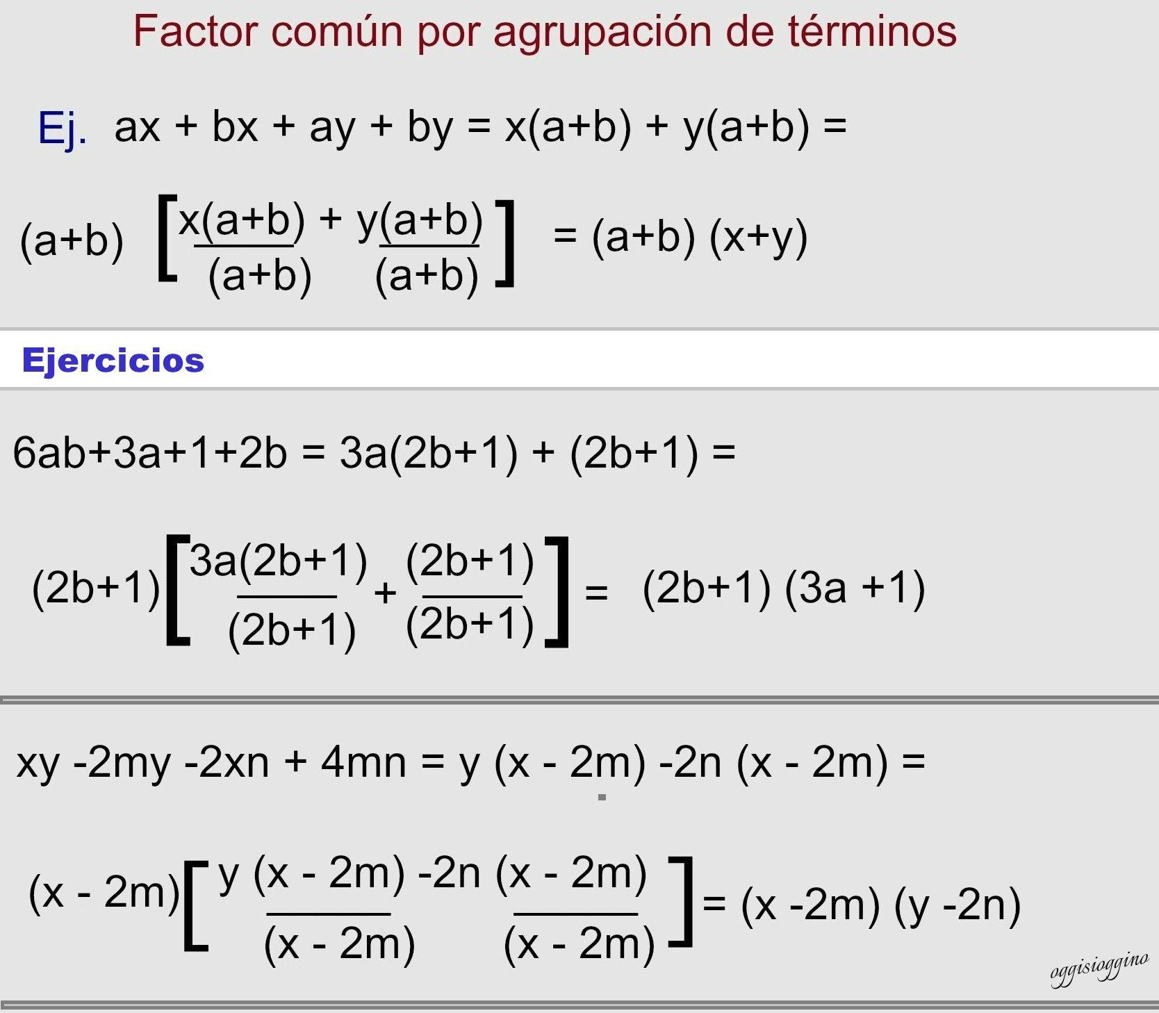 Factorización de polinomios | Polinomios, Factores y Multiplicación