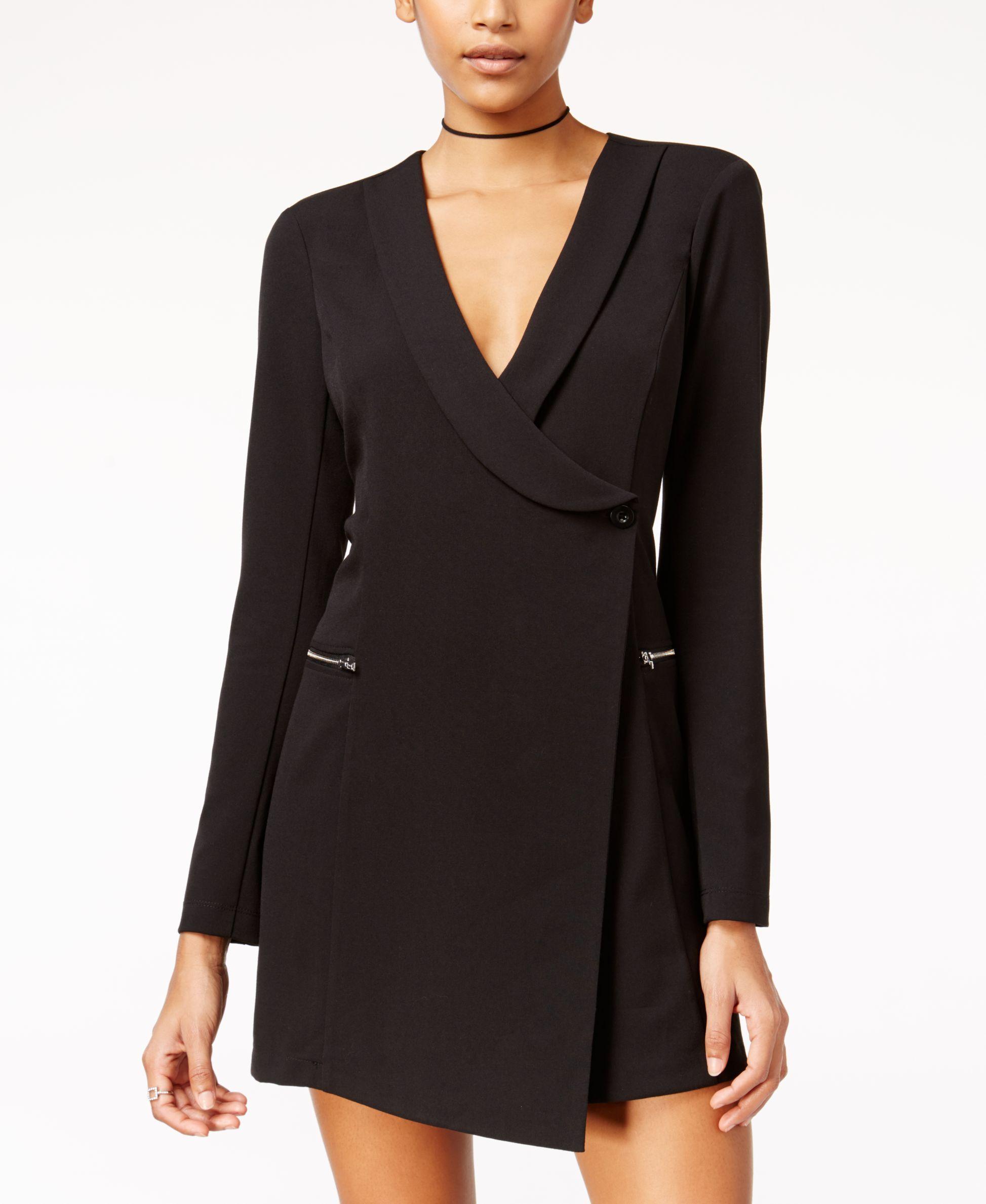 b8e109f0e4f Material Girl Juniors' Tuxedo Sheath Dress, Only at Macy's | Food ...