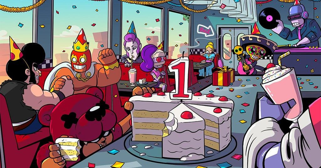 Happy Birthday Brawl Stars! Make sure to check the shop