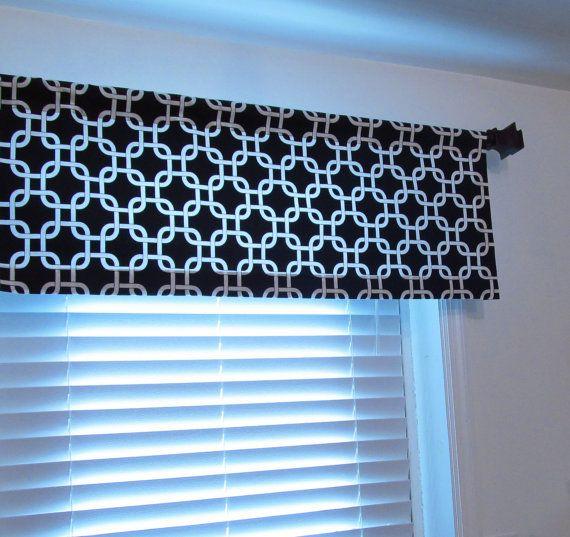 Straight Valance Navy Blue Gotcha Curtain Boys Bedroom Etsy Curtains Valance Valance Curtains