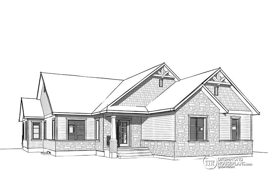House plan W3284-CJG detail from DrummondHousePlans.com