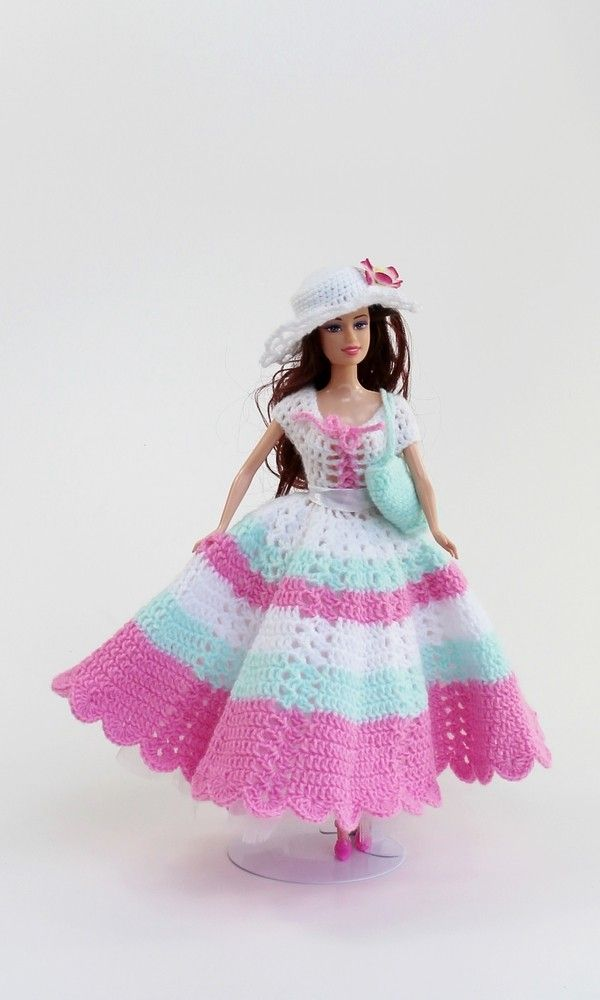 Schöne Puppenkleidung Einfach Selber Häkeln Mit Der Kleider Serie