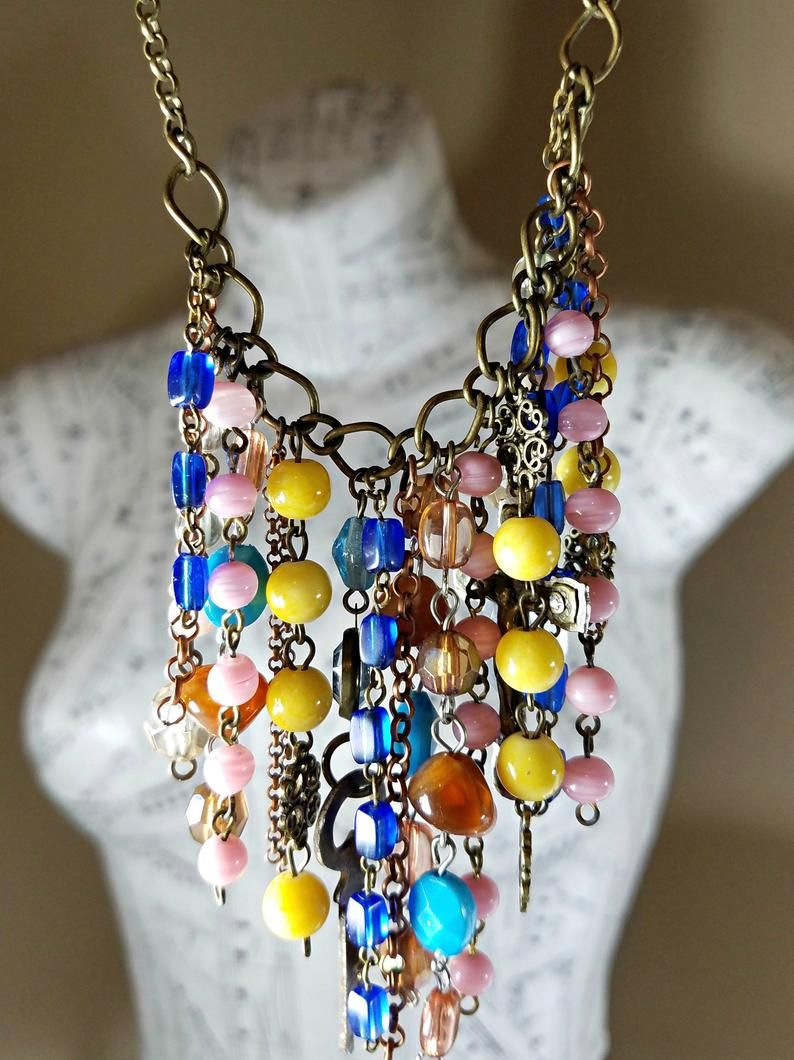 Blue Terrazzo bracelet and earrings set handmade terrazzo beads black agate beads blue terrazzo bead lucite jewelry set