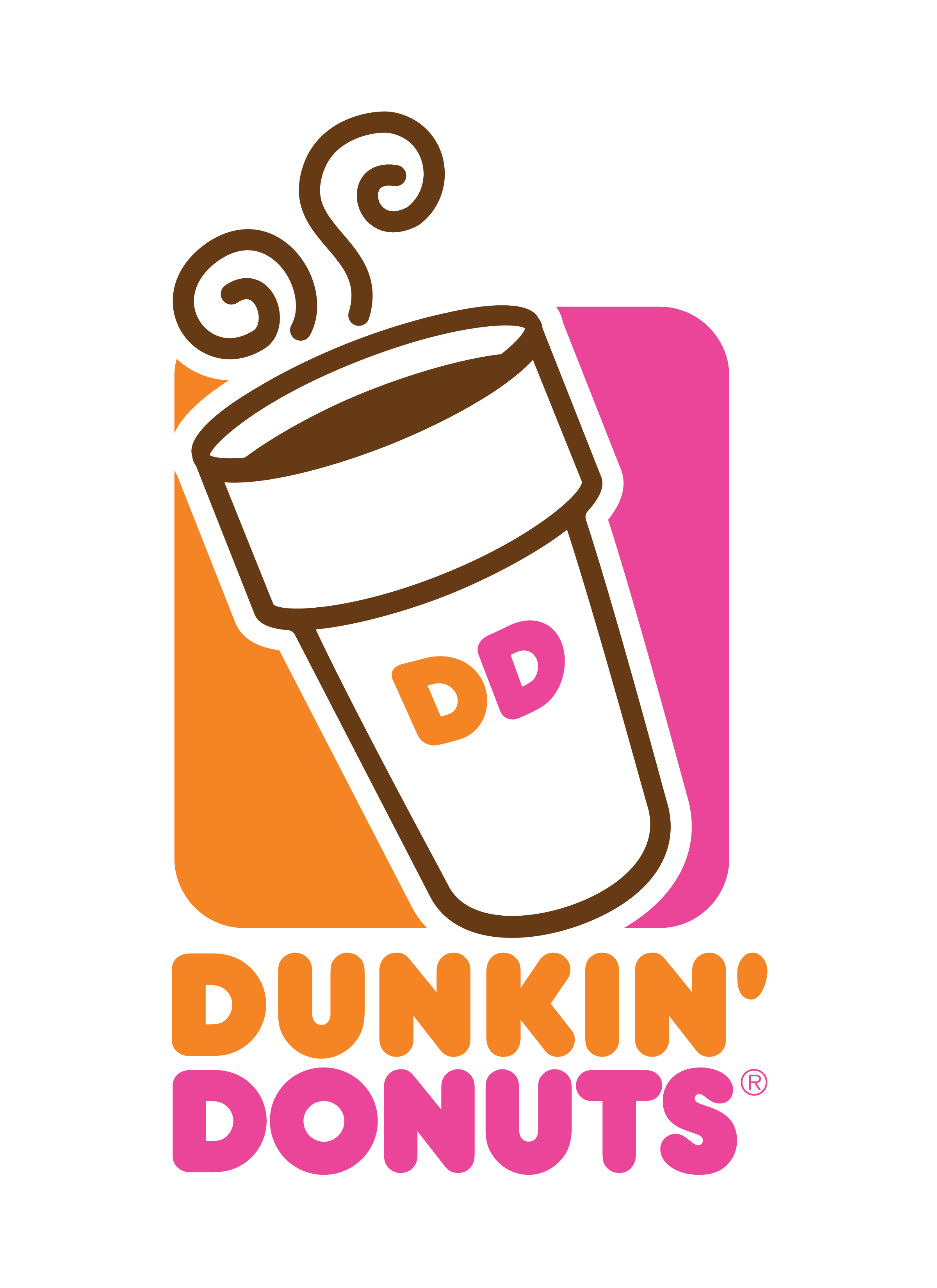 dunkin donuts png logo | Dunkin, Dunkin donuts, Dunkin dounuts