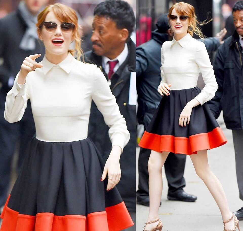 Emma stone with nice dress❤️Luv it !