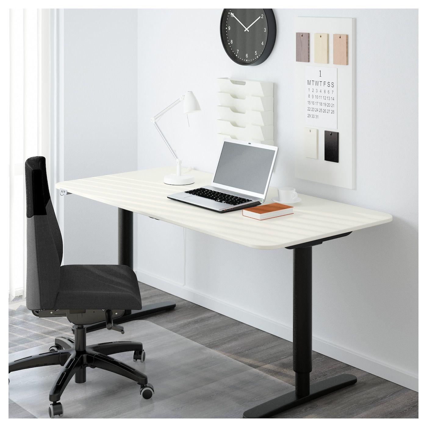 Bekant Table Top White 160x80 Cm In 2020 Ikea Bekant Corner Table Ikea Office Furniture