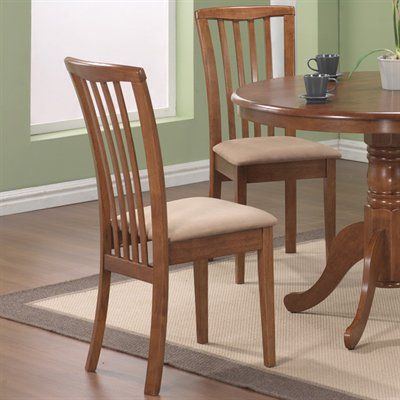 Coaster Fine Furniture 1010 Brannan Side Dining Chair (Set Of 2)