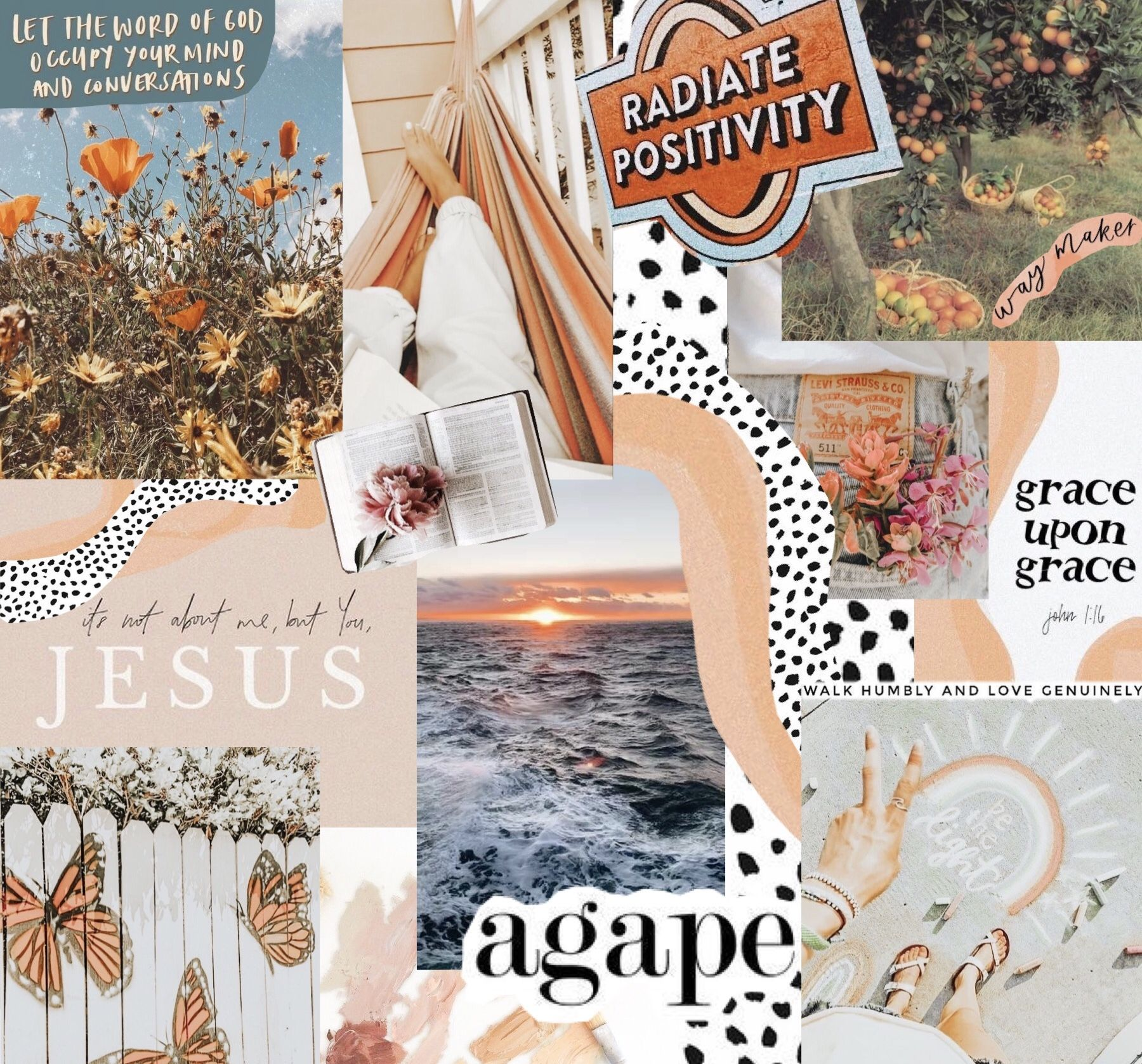 Cute Collage Wallpaper Maker