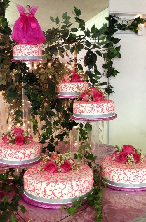 Artistic Safeway Wedding Cake With Pink Theme Wedding Cakes Pink Swirls Pink Themes
