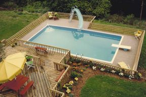 aqua star all-american deckable pool (12x20) | block family home