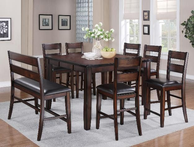 Maldives Collection Counter Height Dining Set Counter Height