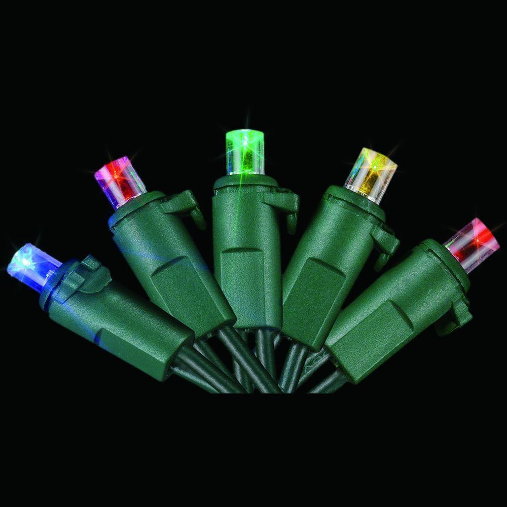 Starlite Creations 60 Light Led Multicolor Dome Light Set Led Bulb England Fashion