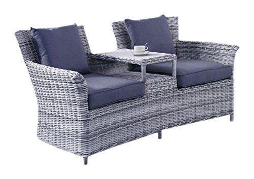Miraculous Glendale Radford Duo Bench Set Rattan Benches Garden Short Links Chair Design For Home Short Linksinfo