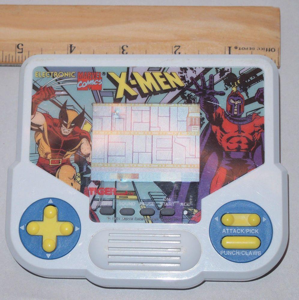 1988 X Men Tiger Electronic Handheld Game Vintage Video Games Electronics Games Handheld Video Games