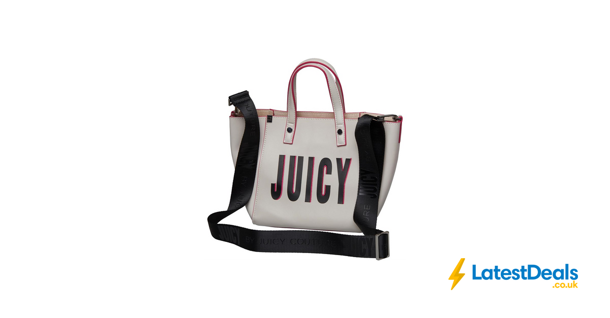 d442b2c00 Juicy by Juicy Couture Womens Arlington Mini Soft Tote Bag White Juicy,  £19.99 at MandM Direct