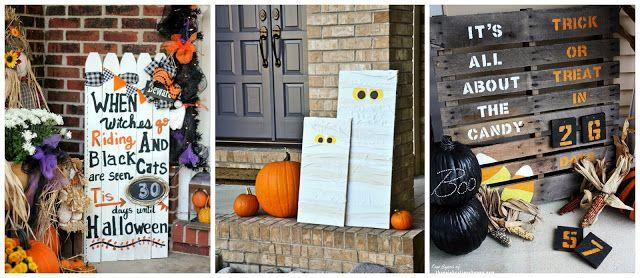 eighteen25 The Great Halloween Link Up Features Part 1 DIY - halloween diy ideas
