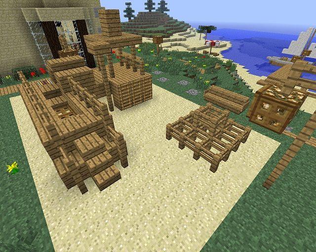 Minecraft Furniture Outdoor Minecraft Pinterest Minecraft Furniture Minecraft Ideas And