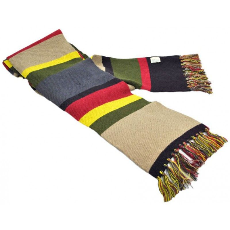 Dress like Tom Baker\'s Fourth Doctor and stay wonderfully warm at ...