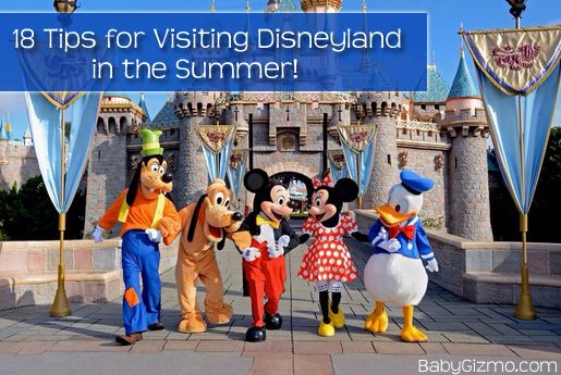 Tips On Doing Disneyland In Summer With The Heat And