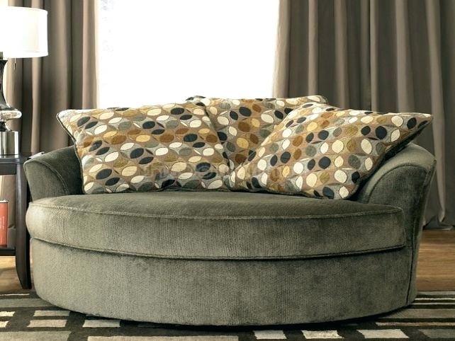 Interior Round Swivel Chairs Ashley Furniture Oversized