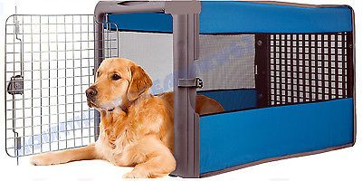 Large Dog Crate Kennel Portable Soft Collapsible Folding Travel Big ...