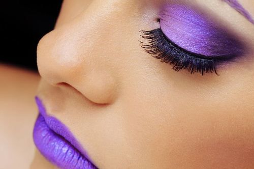 makeup purple - Buscar con Google