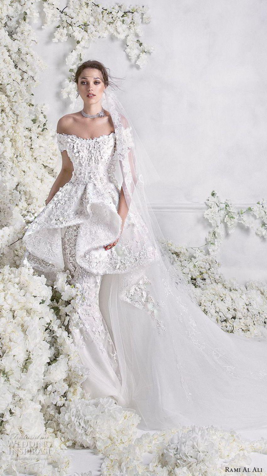 Rami al ali wedding dresses bridal pinterest mermaid
