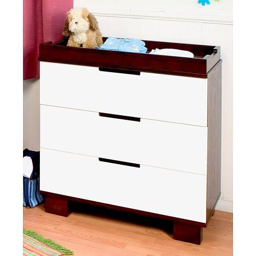 Babyletto Modo 3-Drawer Dresser - Two Tone #nursery