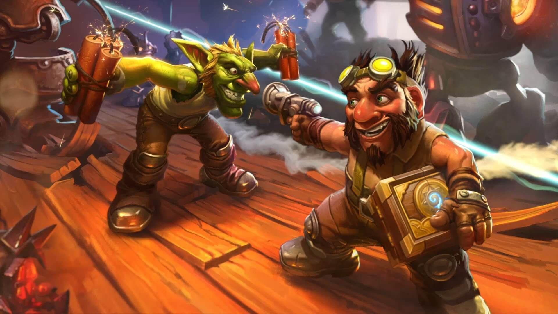 Hearthstone Goblins vs Gnomes Çıktı