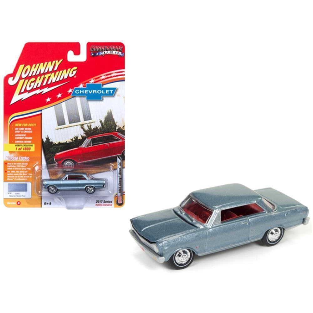 1965 Chevrolet Nova SS Glacier Gray Poly Limited Edition to 1800pc ...