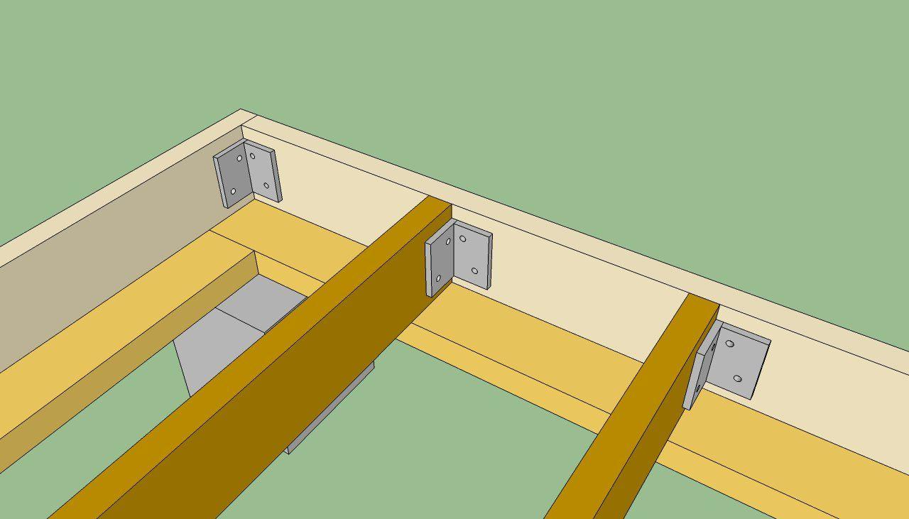 Afbeeldingsresultaat voor floor joist spacing shed   Bouw ...