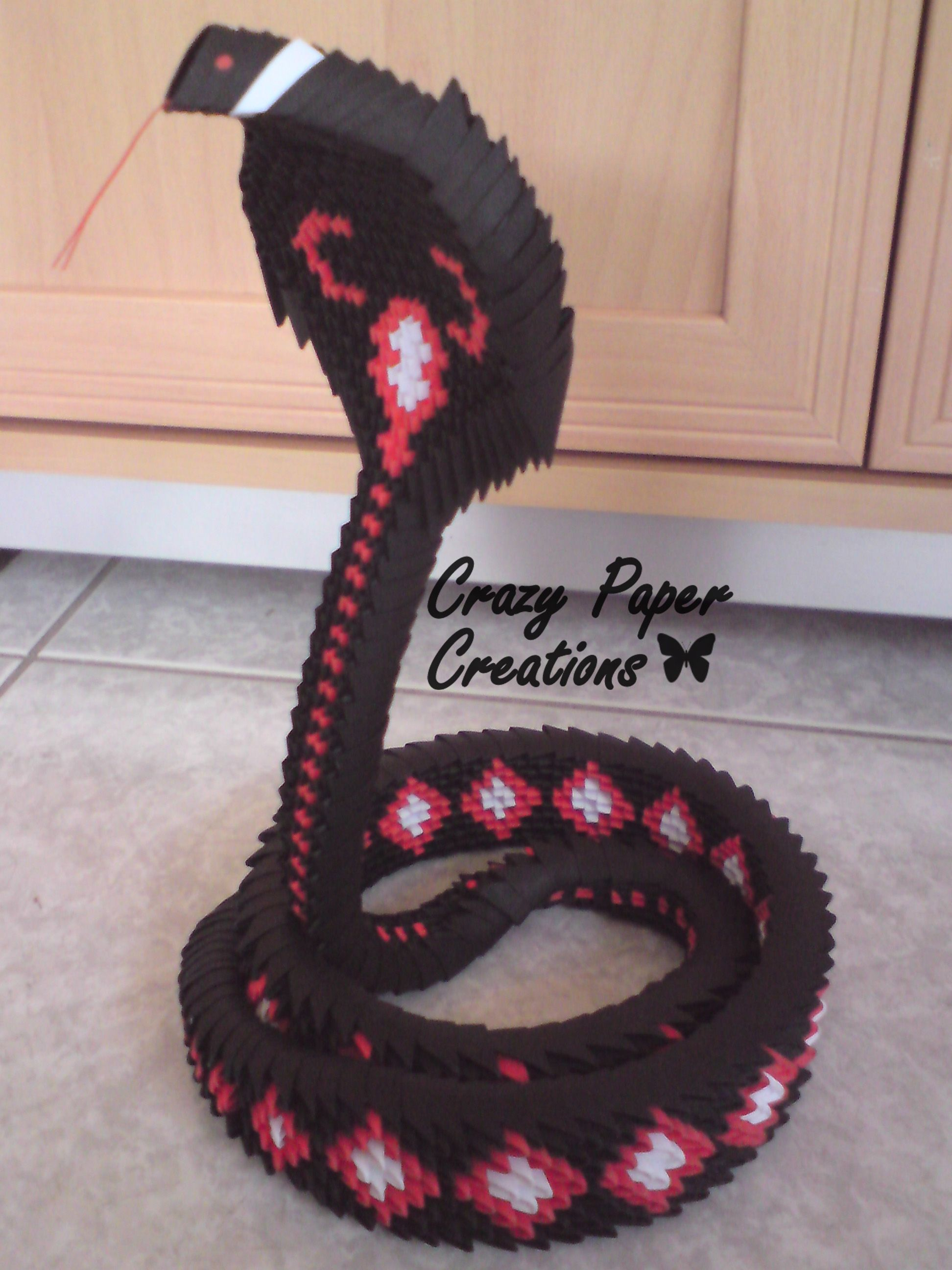 Pin By Gabriella Toth On 3d Origami Pinterest Swan Diagram Cobra Snake 1100 Pieces Https Facebookcom