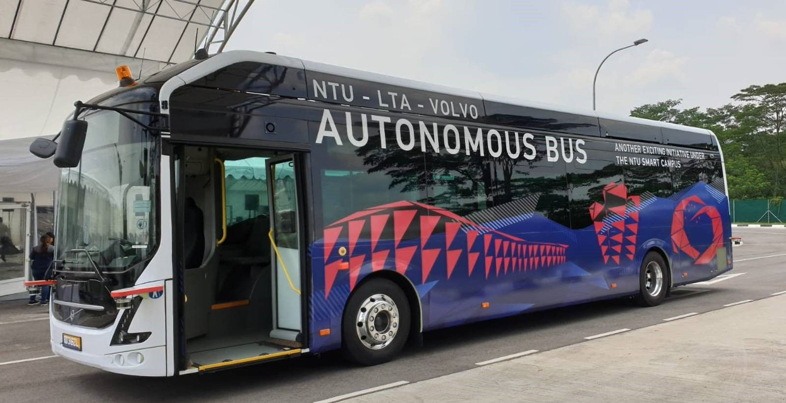 Singapore has started testing is autonomous buses for