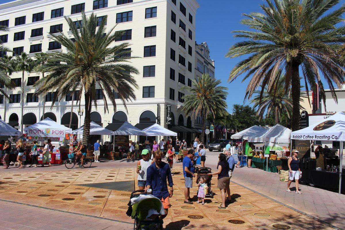 West Palm Beach Greenmarket Saturdays In Downtown West Palm Beach Palm Beach Palm Beach Gardens