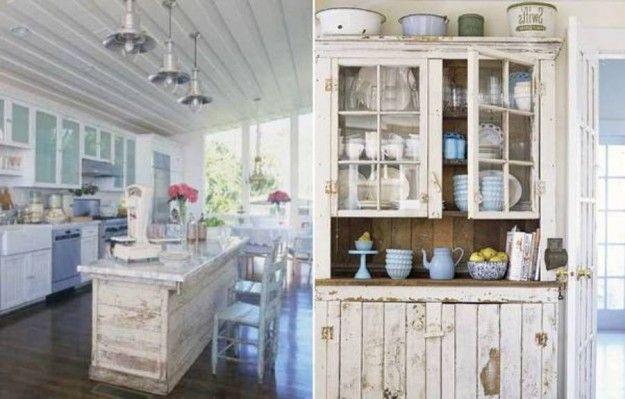 Cucina shabby chic / Kitchen | Decorating | Pinterest | Shabby ...